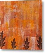 Autumn Abstract Art  Metal Print