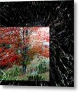 Autumn Abstraction Metal Print