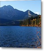 Autumn Afternoon On Pyramid Lake Metal Print