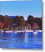 Autumn Along Lake Candlewood - Connecticut Metal Print