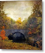 Autumn Ambiance Metal Print