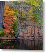 Autumn At Echo Bridge Metal Print