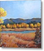 Autumn At Fraser Valley 2 Metal Print