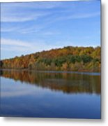 Autumn At Lake Mohegan Metal Print
