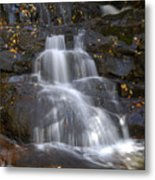 Autumn At Laurel Falls Metal Print