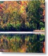 Autumn At Laurel Lake Metal Print