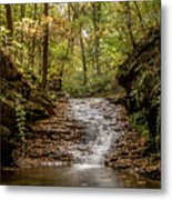 Autumn At Mill Creek Metal Print
