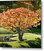 Autumn At Nikka Yuko Metal Print