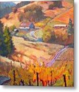 Autumn At Silvan Ridge Metal Print