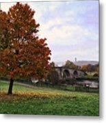 Autumn At Stirling Bridge Metal Print