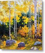 Autumn Beauty Of Sangre De Cristo Mountain Metal Print by Gary Kim
