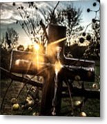 Autumn Blessings  Metal Print by Kim Loftis