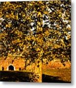 Autumn Boredom Metal Print