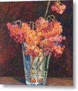 Autumn Bouquet Of Ashberries Metal Print