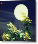 Autumn Chrysanthemums 2 Metal Print