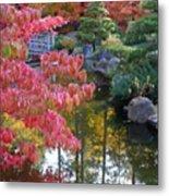 Autumn Color Reflection - Digital Painting Metal Print