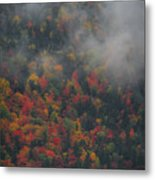 Autumn Colors In The Clouds Metal Print