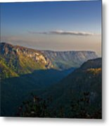 Autumn Colors Linville Falls Gorge IIi Metal Print