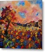 Autumn Colors  Metal Print by Pol Ledent
