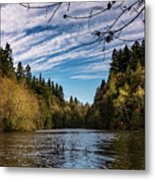 Autumn Cove Metal Print