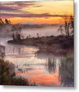 Autumn Dawning Metal Print
