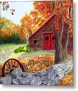 Autumn Day Metal Print