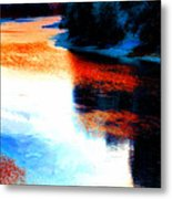 Autumn Down By The River Metal Print