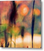 Autumn Dreams Abstract Metal Print