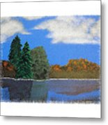 Autumn Dusk- A Tribute To Ross Metal Print