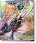 Autumn Fairy Metal Print