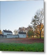 Autumn - Farm At Valley Forge Metal Print