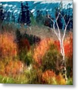 Autumn Feel Metal Print