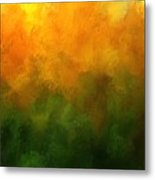 Autumn Fire New England Metal Print
