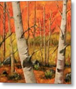 Autumn Forest Metal Print