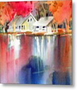 Autumn, Fox River Metal Print