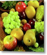 Autumn Fruits. Metal Print