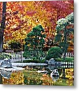 Autumn Glow In Manito Park Metal Print