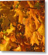 Autumn Gold Metal Print