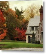 Autumn Grandeur Metal Print