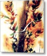 Autumn Gul Metal Print