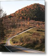 Autumn Hill Near Hancock Maryland Metal Print