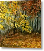 Autumn Hollow II Metal Print