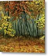 Autumn Hollow Metal Print