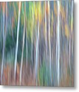 Autumn Impression Metal Print