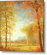 Autumn In America Metal Print