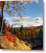 Autumn In Arrowhead Provincial Park Metal Print