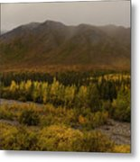 Autumn In August Brooks Range Alaska Metal Print