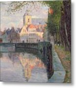 Autumn In Bruges Metal Print by Omer Coppens