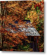 Autumn In Cades Cove Smnp Metal Print