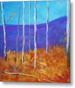 Autumn In Cloudcroft Metal Print